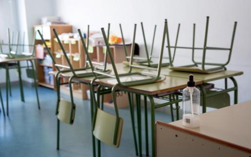 Las clases están suspendidas durante 15 días.