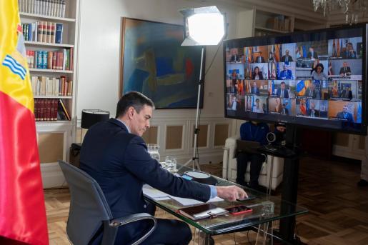 El presidente del Gobierno, Pedro Sánchez, da negativo en las pruebas de coronavirus.