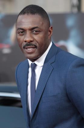 """El actor británico Idris Elba, durante el estreno de la película """"Thor""""."""