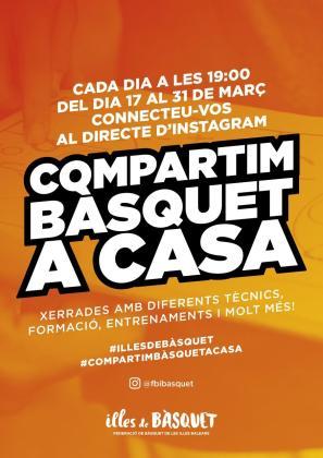 Imagen de la campaña iniciada por la Federació de Bàsquet de les Illes Balears.