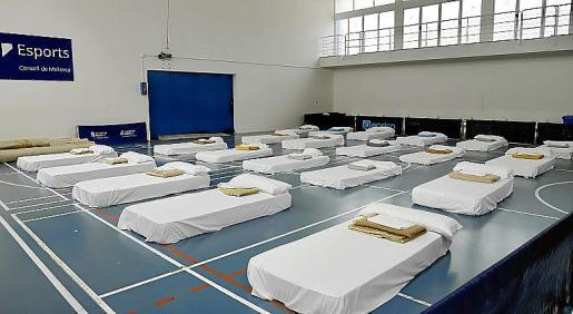Sant Ferran ya está habilitado para las personas sin techo.