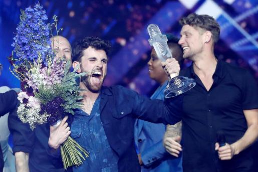 Imagen de los ganadores de la edición de Eurovisión en 2019.