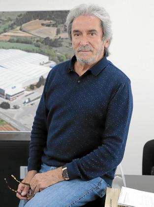 Fernando Luz, este miércoles en su despacho en Marratxí.