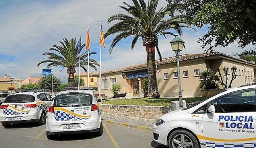 Imagen del cuartel de la Policía Local de Alcudia.