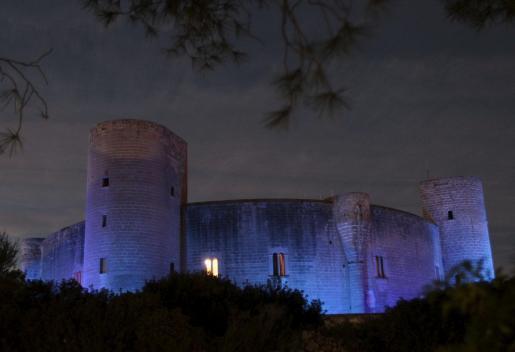 El Castell de Bellver será uno de los edificios que se quedarán a oscuras durante una hora.