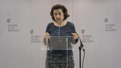 La consellera de Afers Socials, Fina Santiago.