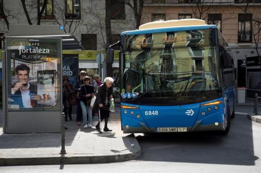 Un autobús de la comunidad de Madrid.