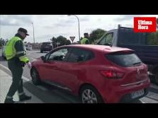 Macro control de la Guardia Civil en Mallorca por el estado de alarma