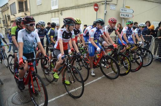 Imagen de una prueba ciclista.