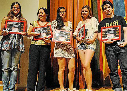 Carmen González, Nadia Banegas, Pilar Gancedo, Natasha Prokhorova y Manuel Huedo.
