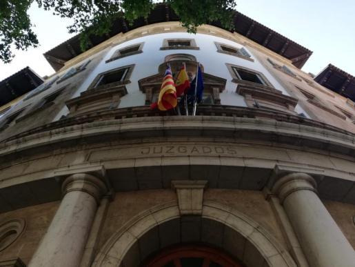 Imagen de la fachada del edificio de los Juzgados de Palma en Avenida Alemania.