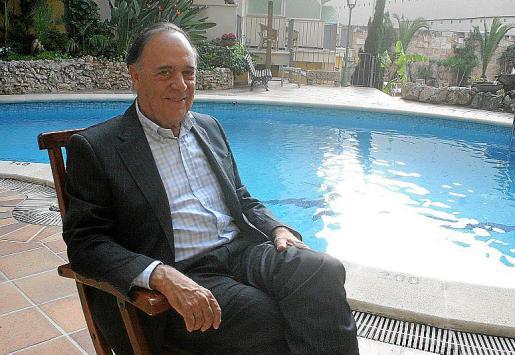 El marqués de Griñón en Mallorca en 2008.