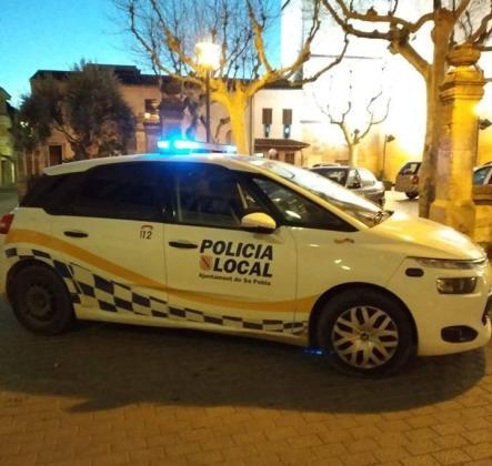 Controles policiales en sa Pobla