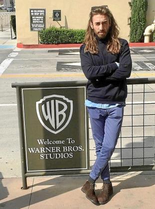 El mallorquín Borja Moreno posó en Hollywood para este diario.