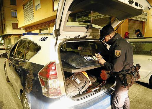 La presencia policial se ha multiplicado exponencialmente.