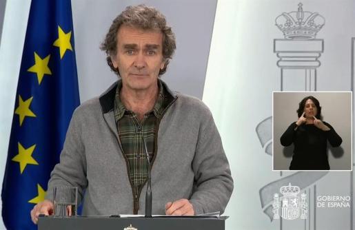El director del centro de alertas, Fernando Simón.