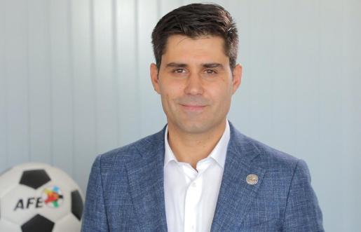 David Aganzo, presidente de la Asociación de Futbolistas Españoles (AFE)