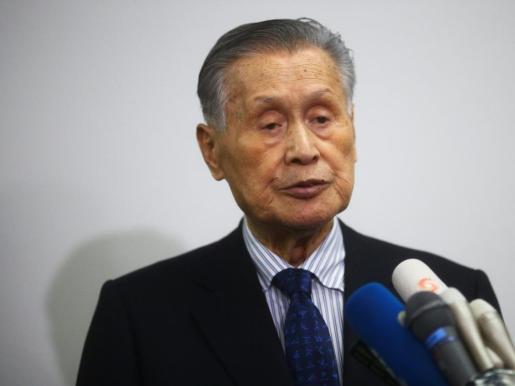 Yoshiro Mori, presidente del comité organizador de Tokio 2020.