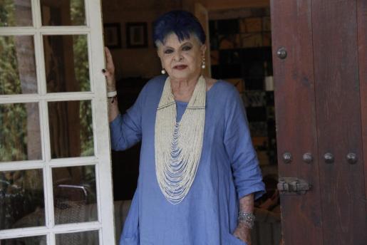 Lucía Bosé, fotografiada en Mallorca.