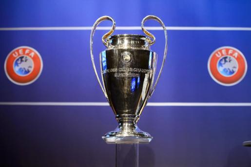 Imagen del trofeo de la Liga de Campeones.
