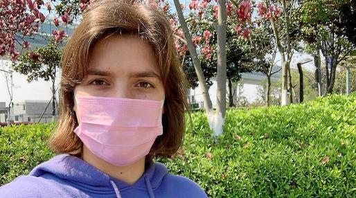 Margalida Ginard vive en Zhejiang desde el pasado mes de noviembre donde ejerce de profesora.