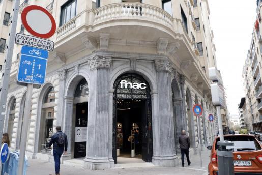 Imagen de archivo de la fachada de Fnac Palma.