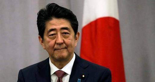 Imagen de Shinzo Abe, primer ministro de Japón.