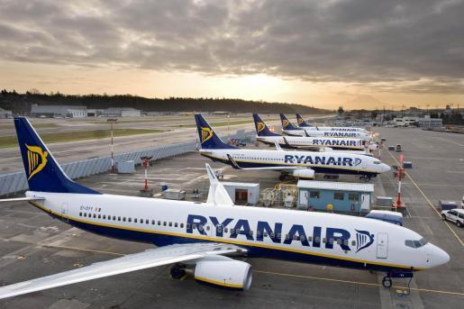 27/09/2018 Aviones de Ryanair  ECONOMIA  RYANAIR   aviones ryanair