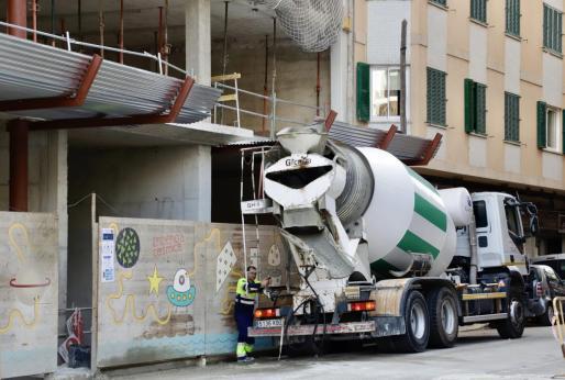 El Govern quiere detener la actividad de la construcción en Baleares.