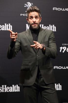 El periodista y presentador Roberto Leal durante el photocall del acto de entrega de los Premios Men's Health.
