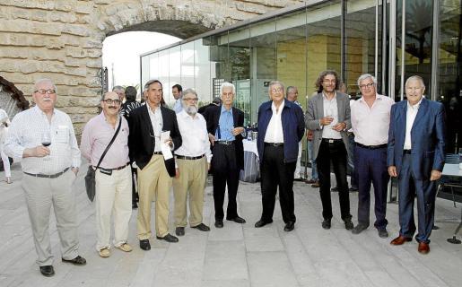 Nel Penya, Nicolás Pomar, Biel Morell, Toni Contreras, Alceu Ribeiro, Pedro Gual Viala, Pedro Gual Guasp, Josep Lluís Roses y Pep Sans.