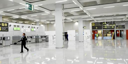 El aeropuerto de Son Sant Joan irá adaptando sus infraestructuras al tráfico de pasajeros.