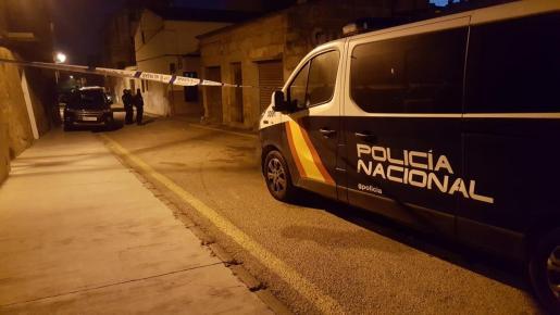 Imagen de archivo de un furgón de la Policía Nacional.