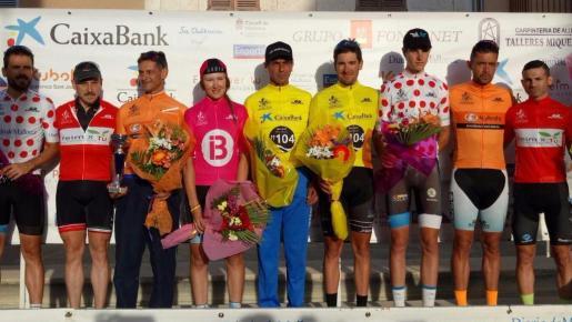 Imagen de un anterior podio del Trofeu Pla de Mallorca.