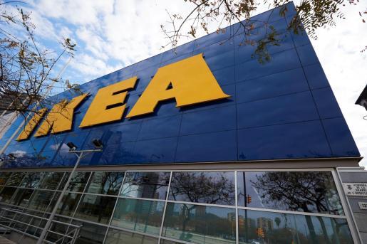 Vista de una tienda de IKEA en Barcelona, este miércoles.