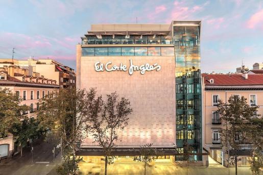 Fachada de El Corte Inglés en Madrid.       El Corte Ingés         (Foto de ARCHIVO)        10/11/2017 El Corte Ingés