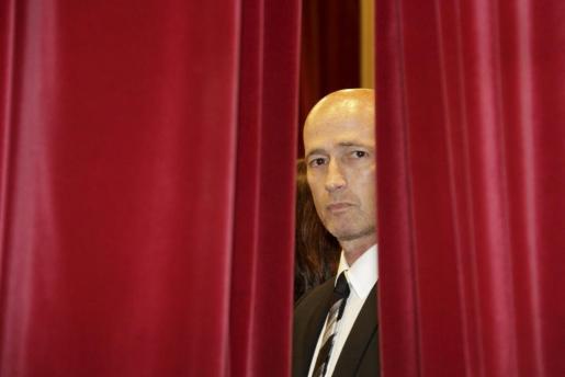 Antoni Pastor, hoy en el Parlament.