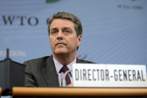 El director general de la Organización Mundial del Comercio (OMC), el brasileño Roberto Azêvedo.