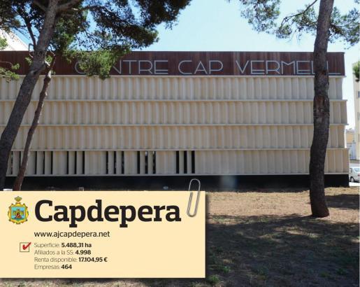 El Centre Cap Vermell, ubicado en Cala Rajada, cumple las funciones de auditórium y centro cultural en esta zona costera de Capdepera.