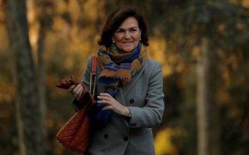 Carmen Calvo, en una imagen de archivo.
