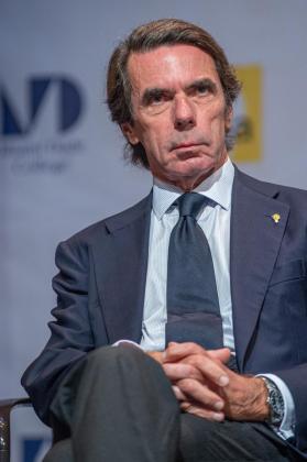 Imagen de archivo del expresidente José María Aznar.