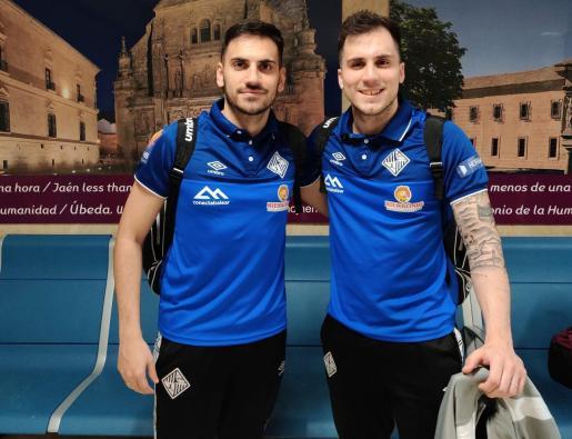 Diego Quintela y Mati Rosa, en una imagen de archivo.