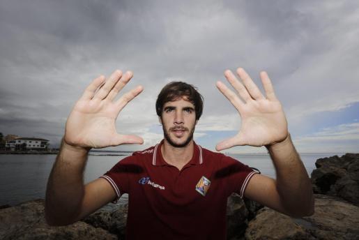 El portero del Palma Futsal, Carlos Barrón, en una imagen de archivo.