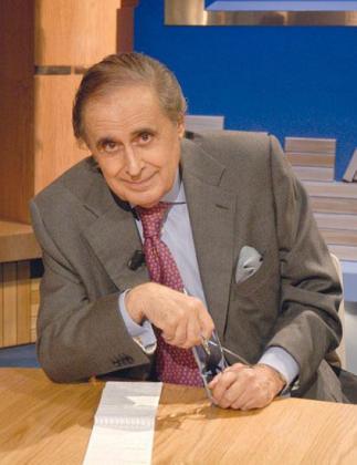 Jaime Peñafiel, periodista del corazón.