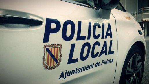 Agentes de la Policía Local de Palma se desplazaron al lugar del accidente.