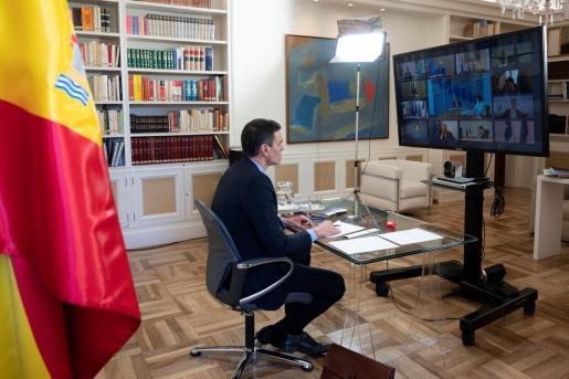 El presidente del Gobierno, Pedro Sánchez, participa en el Consejo Europeo de este jueves.
