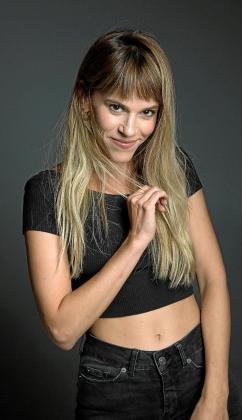 La actriz mallorquina Ann Perelló.