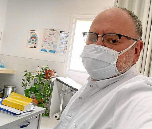 El doctor José María Valverde, vicepresidente del Colegio de Médicos.