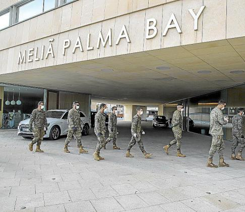 El Meliá Palma Bay es el primer hotel medicalizado en Mallorca. .
