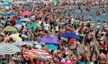 Playas llenas a final de julio